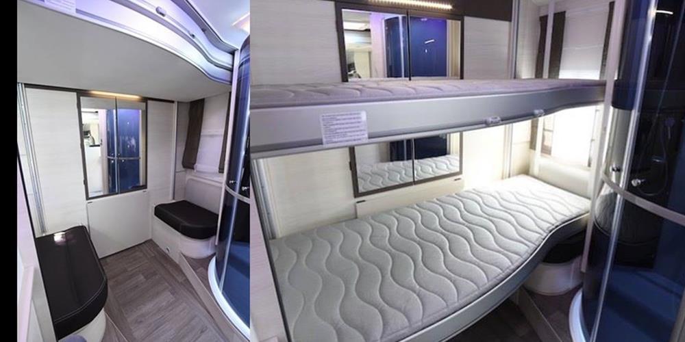 Gallois oise camping concessionnaire camping cars caravanes et mobil homes en picardie - Lits articules electriques ...