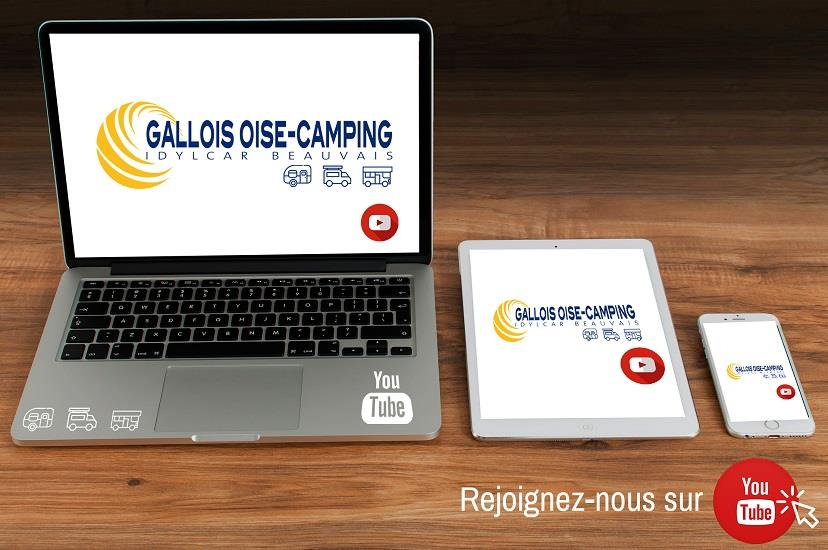 Chaîne You Tube Gallois Oise Camping