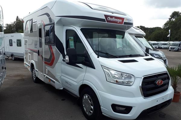 Challenger 250 Graphite Edition PREMIUM - Camping-car profilé - Neuf