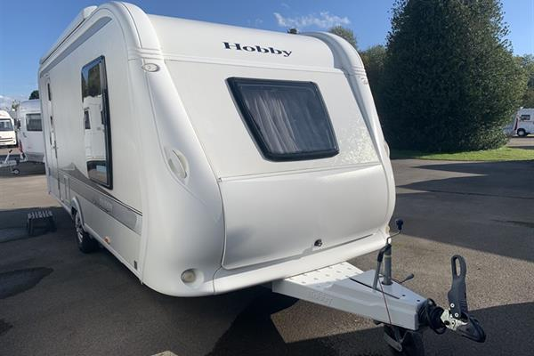 Hobby EXCELLENT 490 SFF - Caravane rigide - Occasion